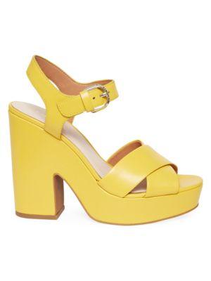 405bfc0211 Saint Laurent - Tribute 75 Patent Leather Platform Sandals - saks.com