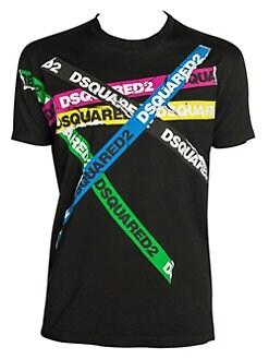 66cf8ddbd Dsquared2. Cool Fit Logo Tape T-Shirt