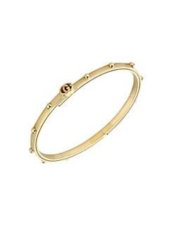 9a5223c8cf5 Gucci. Running GG 18K Yellow Gold Bracelet