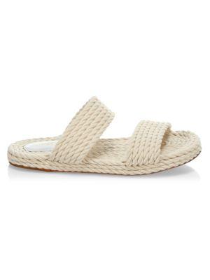 Zimmermann Sandals Rope Slide Sandals