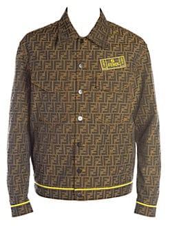 a007fdd505556 Fendi. FF Jacquard Denim Jacket