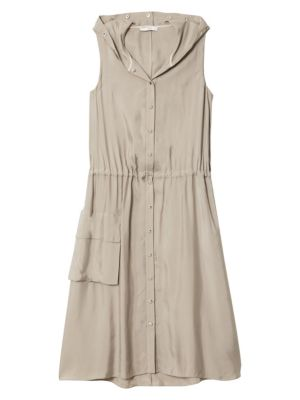 Tibi Anorak Midi Dress