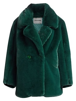 a2ef535bd24 Product image. QUICK VIEW. Each X Other. Oversized Faux-Fur Coat