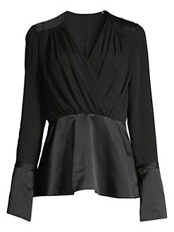 3c58fbdc2f36 Tops For Women: Blouses, Shirts & More | Saks.com