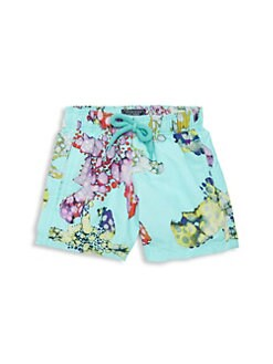 f60c931dac Little Boy's & Boy's Jim Watercolor Turtles Swim Trunks AQUA. QUICK VIEW.  Product image. QUICK VIEW. Vilebrequin