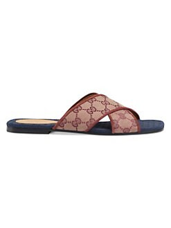 633a6746ae71 Gucci. Senior GG Cross Slides