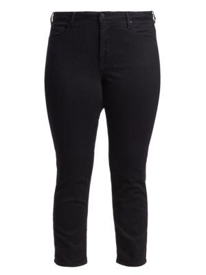 Nydj Plus Size Petite Sheri Slim Jeans