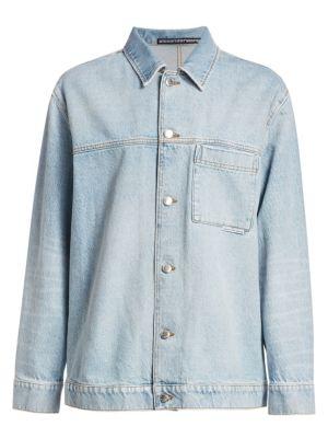 Alexanderwang T Denim Pajama Shirt