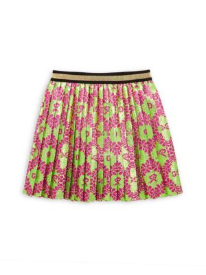 Gucci Baby S Little Girl S Girl S Floral Lam Jacquard A Line Skirt