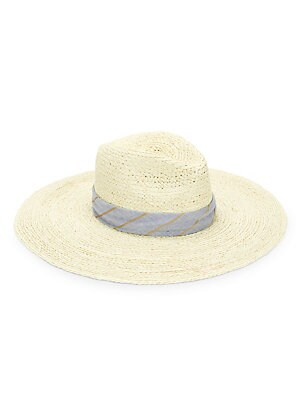 a17bd9cff39571 Rag & Bone - Sewn Straw Panama Hat - saks.com