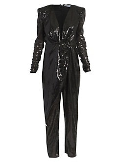 cedc2b7bb0 NEW. Tulle Mach Paillettes Jumpsuit BLACK. QUICK VIEW. Product image
