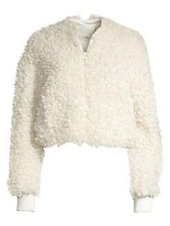 d93ac2287c4 Women s Apparel - Coats   Jackets - Motos   Bombers - saks.com