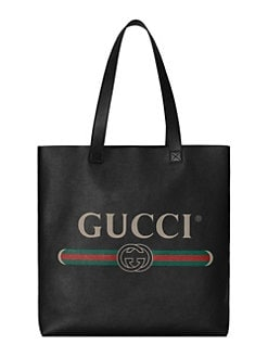 20ab31cd442 Gucci Print Tote BLACK GREY. QUICK VIEW. Product image