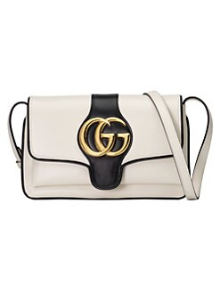 d8741bce4f4 QUICK VIEW. Gucci. Small Arli Leather Shoulder Bag