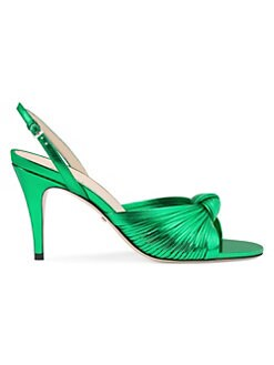 5b5f25650 Crawford Leather Sandals GREEN. QUICK VIEW. Product image. QUICK VIEW. Gucci