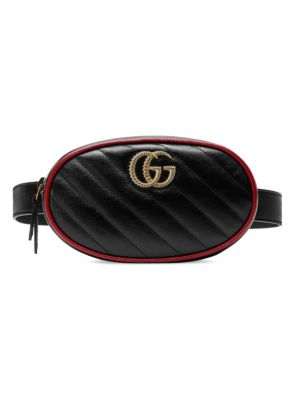 Gucci Gg Marmont 2 0 Leather Belt Bag