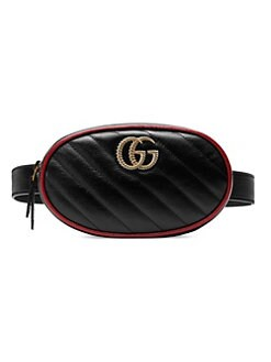 3f14d536547573 QUICK VIEW. Gucci. GG Marmont 2.0 Leather Belt Bag