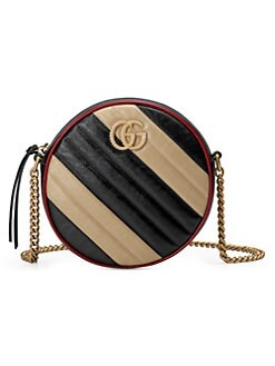 68639d77ffc Product image. QUICK VIEW. Gucci. Mini GG Marmont 2.0 Leather Camera Bag