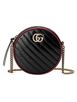 7fb11efd0c2 Product image. QUICK VIEW. Gucci. Mini GG Marmont 2.0 Leather Camera Bag