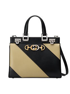 30eefff12e8d2f Product image. QUICK VIEW. Gucci. Small Zumi Leather Top Handle Bag