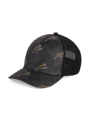 4ed6a213 Gucci - Canvas Baseball Hat - saks.com