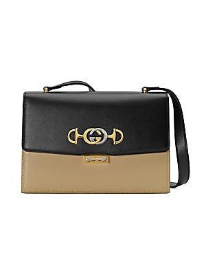 0b90b0141 Gucci - Small Gucci Zumi Leather Shoulder Bag - saks.com