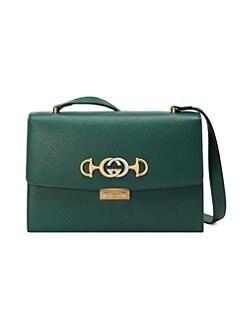 7077595dc0f Gucci. Small Gucci Zumi Leather Shoulder Bag