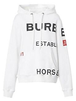 1da7f1eeb07 Burberry. Poulter Logo Hoodie