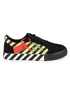 b1e223aa3939 Off-White. Low Vulcanized Striped Arrow Sneakers