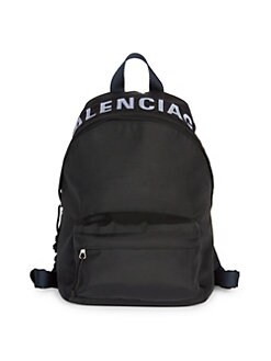 c5ea5360af637 QUICK VIEW. Balenciaga. Small Wheel Logo Backpack