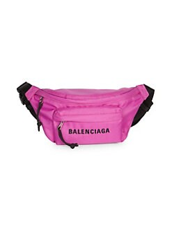 44255db2a210 QUICK VIEW. Balenciaga. Small Wheel Logo Belt Bag