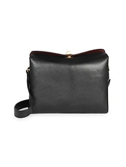 ec2c8dfbffbd Product image. QUICK VIEW. Balenciaga. Small Flap Leather Double Crossbody  Bag