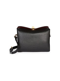 b503b86cdf Balenciaga. Small Flap Leather Double Crossbody Bag