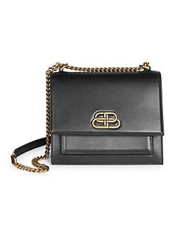 ac72ee2cf78bb8 Small Sharp Flap Double Crossbody Bag BLACK. QUICK VIEW. Product image