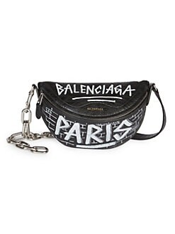e2d33d988f3a NEW. Extra Extra-Small Souvenir Graffiti Belt Bag BLACK. QUICK VIEW.  Product image