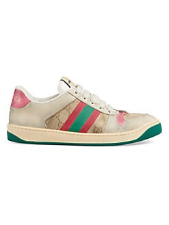 ead851998453 QUICK VIEW. Gucci. Worn Screener Leather Sneakers