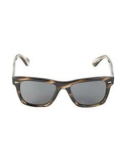 4bddf3c363b Oliver Peoples. 54MM Square Sunglasses