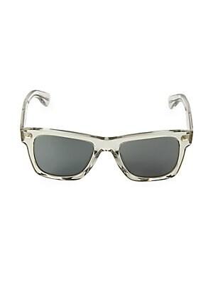 87634fadc7 Oliver Peoples - Oliver Sun 54 Black Diamond   Carbon Grey Sunglasses