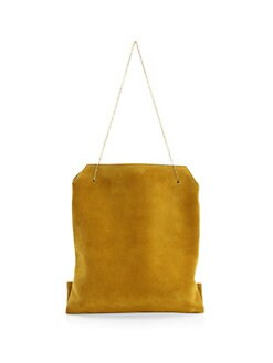QUICK VIEW. The Row. Small Suede Lunch Bag