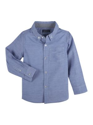 Andy Amp Evan Little Boy S Chambray Long Sleeve Button Down Shirt