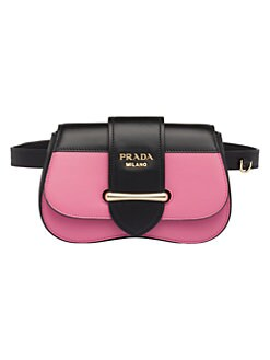 3e22fc3d796 Prada. Sidonie Leather Belt Bag