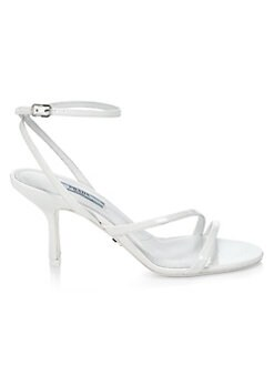 ae893e31b3ec Product image. QUICK VIEW. Prada. Patent Leather Strappy Sandals