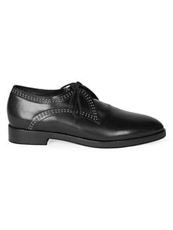 45972edcd QUICK VIEW. Alaïa. Studded Leather Oxford Loafers