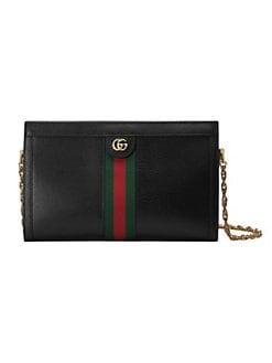 a507c0caebf14 Gucci. Medium Ophidia Leather Shoulder Bag