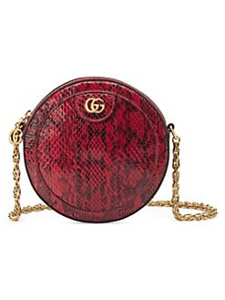 37217ee9135d Product image. QUICK VIEW. Gucci. Mini Ophidia Snakeskin Camera Bag