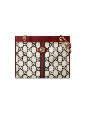 64b9c2ffd390 Gucci - Ophidia GG Supreme Tote Bag - saks.com