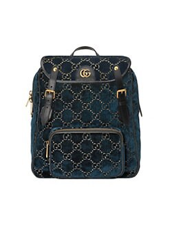 707d5a712 QUICK VIEW. Gucci. Small GG Velvet Backpack
