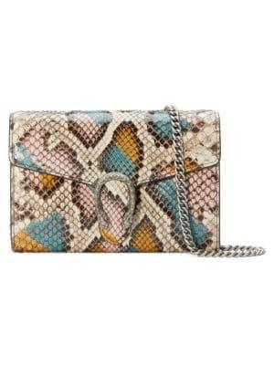 Gucci Dionysus Python Wallet On Chain