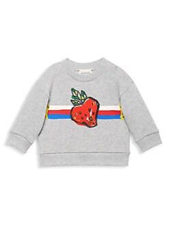649ca4447 Gucci. Baby Girl's Strawberry Sweatshirt