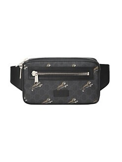 c57857fa659 QUICK VIEW. Gucci. GG Supreme Tigers Belt Bag